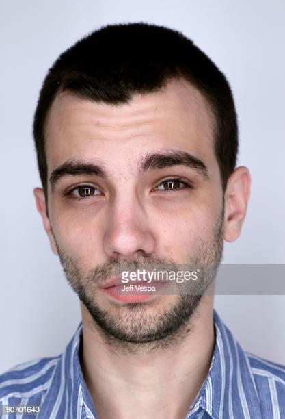 Actor Jay Baruchel poses for a portrait during the 2009 Toronto International Film Festival held at the Sutton Place Hotel on September 13 2009 in...