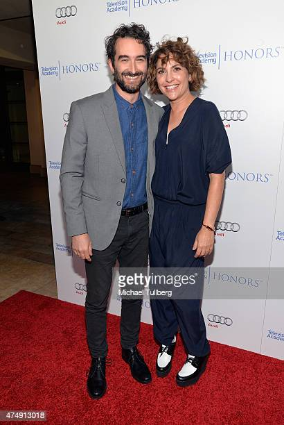 Actor Jay Duplass and Executive Producer Jill Soloway attend the 8th Annual Television Academy Honors at Montage Beverly Hills on May 27 2015 in...
