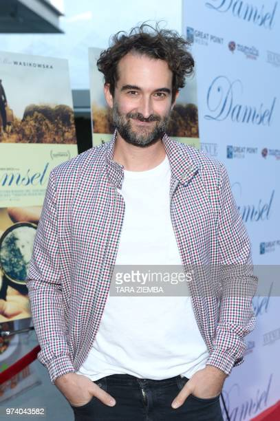 US actor Jay Duplass arrives at the Magnolia Pictures' 'Damsel' premiere at ArcLight Hollywood in Hollywood California on June 13 2018