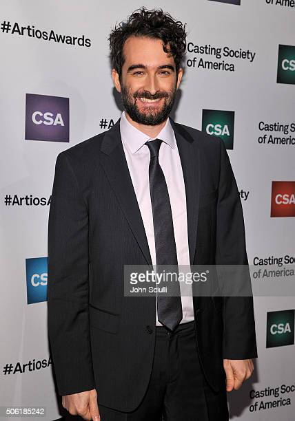 Actor Jay Duplass arrives for the Casting Society of America's 31st Annual Artios Awards at The Beverly Hilton Hotel on January 21 2016 in Beverly...