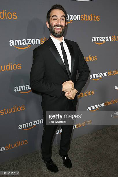 Actor Jay Duplass attends Amazon Studios Golden Globes Celebration at The Beverly Hilton Hotel on January 8 2017 in Beverly Hills California