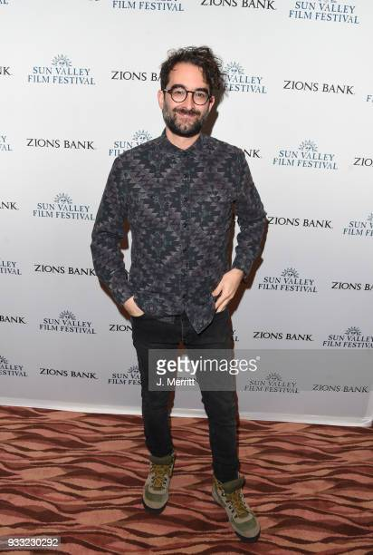 Actor Jay Duplass attends the 2018 Sun Valley Film Festival Coffee Talk with Jay Duplass on March 17 2018 in Sun Valley Idaho