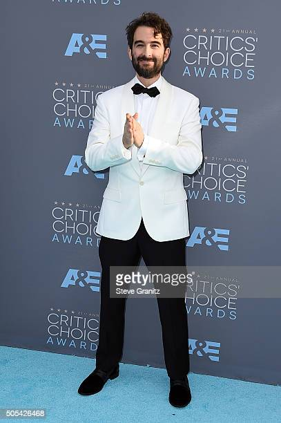 Actor Jay Duplass attends the 21st Annual Critics' Choice Awards at Barker Hangar on January 17 2016 in Santa Monica California