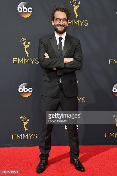 Actor Jay Duplass attends the 68th Annual Primetime Emmy Awards at Microsoft Theater on September 18 2016 in Los Angeles California
