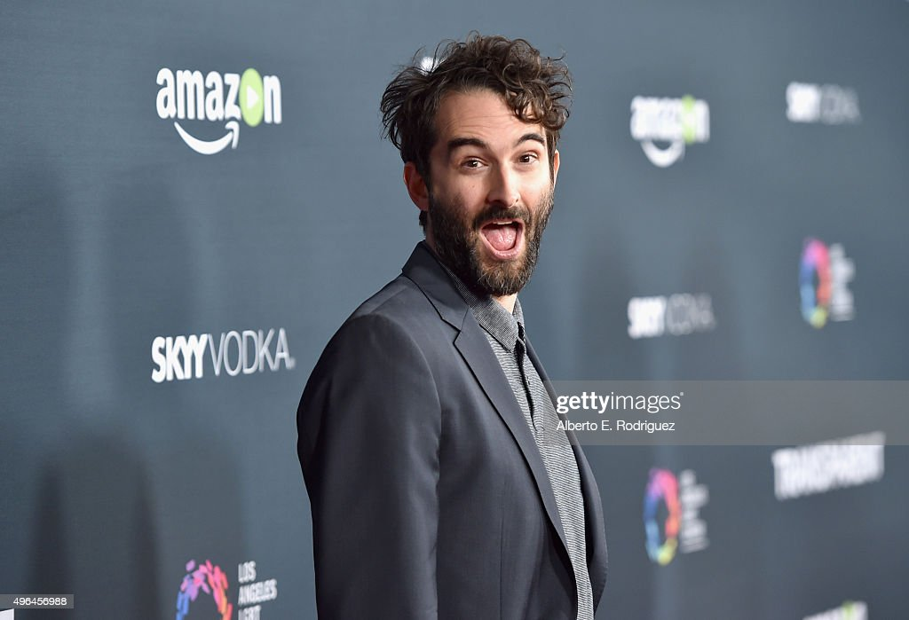 Actor Jay Duplass attends the Premiere Of Amazon's 'Transparent' Season 2 at SilverScreen Theater at the Pacific Design Center on November 9, 2015 in West Hollywood, California.