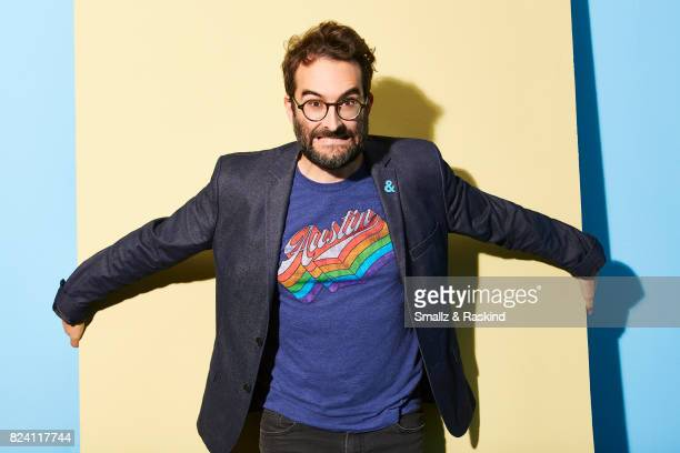 Actor Jay Duplass of HBO's 'Room 104' poses for a portrait during the 2017 Summer Television Critics Association Press Tour at The Beverly Hilton...