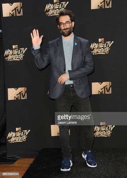 Actor Jay Duplass poses in the press room at the 2017 MTV Movie and TV Awards at The Shrine Auditorium on May 7 2017 in Los Angeles California