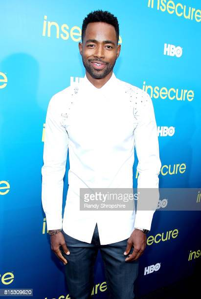 Actor Jay Ellis attends a block party celebrating HBO's new season of Insecure on July 15 2017 in Inglewood California
