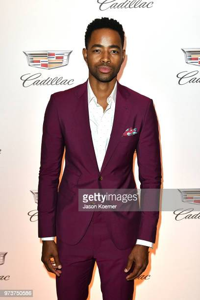 Actor Jay Ellis attends Cadillac Welcome Luncheon At ABFF Black Hollywood Now at The Temple House on June 13 2018 in Miami Beach Florida