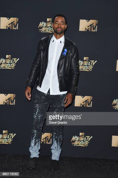 Actor Jay Ellis attends the 2017 MTV Movie and TV Awards at The Shrine Auditorium on May 7 2017 in Los Angeles California