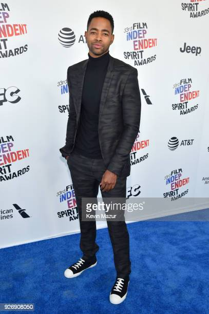 Actor Jay Ellis attends the 2018 Film Independent Spirit Awards on March 3 2018 in Santa Monica California