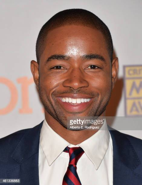 Actor Jay Ellis attends the Broadcast Film Critics Association's Celebration of Black Cinema at the House of Blues Sunset Strip on January 7 2014 in...