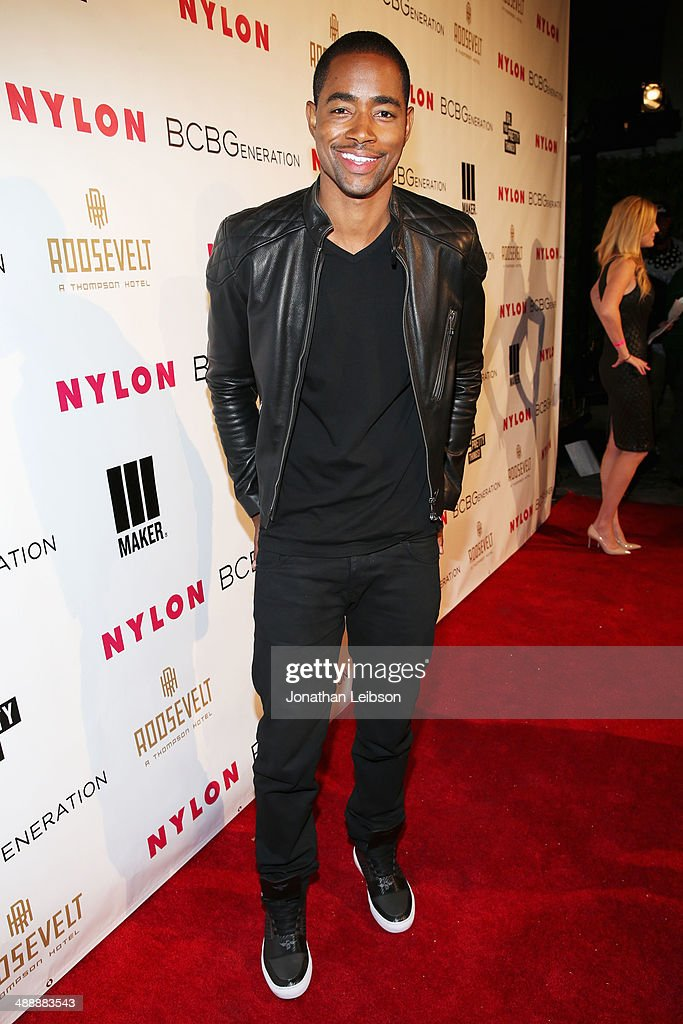 Actor Jay Ellis attends the Nylon + BCBGeneration May Young Hollywood Party at Hollywood Roosevelt Hotel on May 8, 2014 in Hollywood, California.