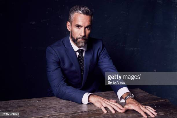 Actor Jay Harrington of CBS's 'SWAT' poses for a portrait during the 2017 Summer Television Critics Association Press Tour at The Beverly Hilton...