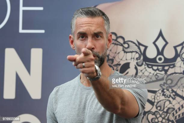 US actor Jay Harrington poses during a photocall for the TV show SWAT as part of the 58nd MonteCarlo Television Festival on June 17 2018 in Monaco