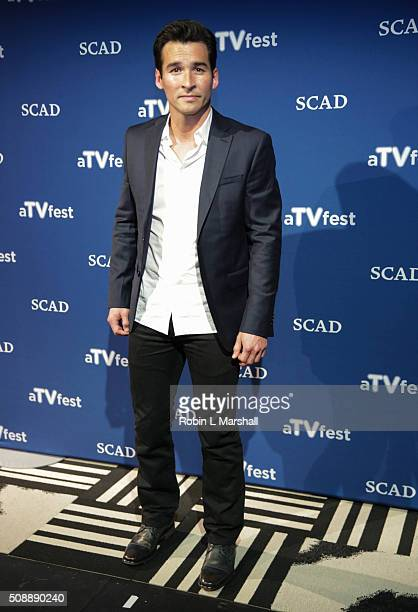 Actor Jay Hayden attends aTVfest on February 6 2016 in Atlanta Georgia