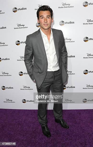 Actor Jay Hayden attends Disney Media Disribution International Upfronts at Walt Disney Studios on May 17 2015 in Burbank California