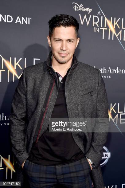 Actor Jay Hernandez arrives at the world premiere of Disney's 'A Wrinkle in Time' at the El Capitan Theatre in Hollywood CA Feburary 26 2018