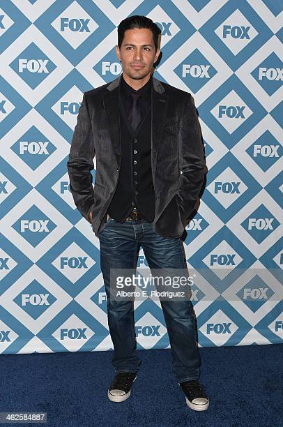 Actor Jay Hernandez arrives to the 2014 Fox AllStar Party at the Langham Hotel on January 13 2014 in Pasadena California
