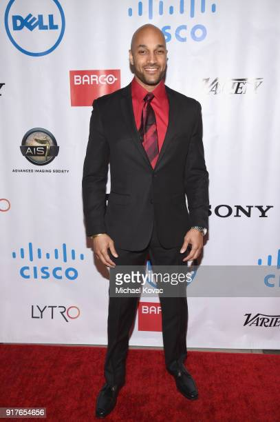 Actor Jay Hunter attends the Advanced Imaging Society 2018 Lumiere Awards presented by Dell and Cisco at Steven J Ross Theatre on February 12 2018 in...