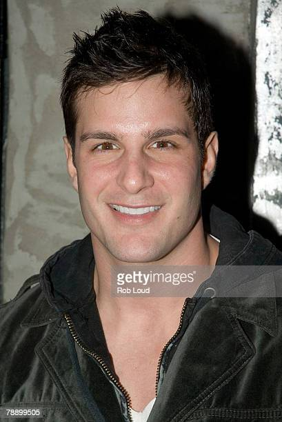 Actor Jay Jablonski attends the How to Eat Like a Hot Chick book release party at Stereo January 10 2008 in New York City