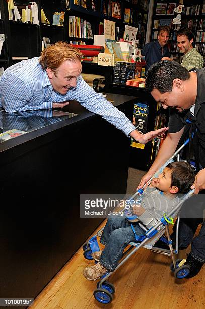 Jay Mohr Book Signing For No Wonder My Parents Drank Stock Photos