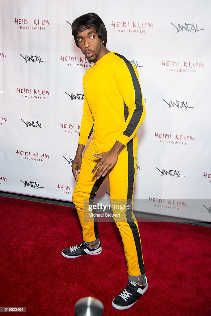 Actor Jay Pharoah attends Heidi Klum's 17th Annual Halloween party at Vandal on October 31, 2016 in New York City.