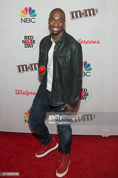 Actor Jay Pharoah attends the 2015 Red Nose Day Charity Event at the Hammerstein Ballroom on May 21 2015 in New York City