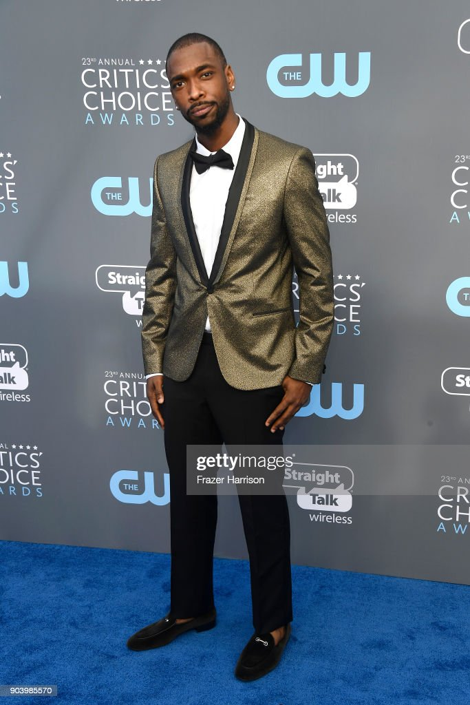 Actor Jay Pharoah attends The 23rd Annual Critics' Choice Awards at Barker Hangar on January 11, 2018 in Santa Monica, California.