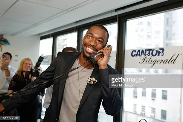 Actor Jay Pharoah attends the annual Charity Day hosted by Cantor Fitzgerald and BGC at Cantor Fitzgerald on September 11 2015 in New York City