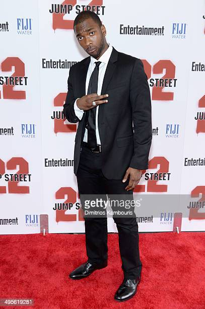 Actor Jay Pharoah attends the New York screening of 22 Jump Street at AMC Lincoln Square Theater on June 4 2014 in New York City