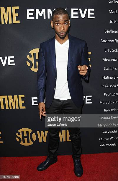 Actor Jay Pharoah attends the Showtime Emmy eve party at Sunset Tower on September 17 2016 in West Hollywood California
