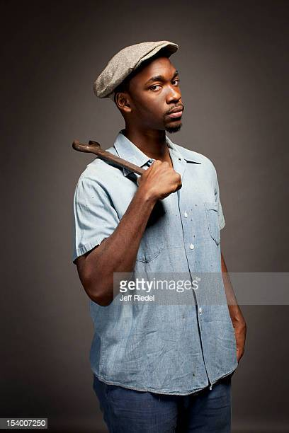 Actor Jay Pharoah is photographed for People Magazine on October 31 2011 in New York City