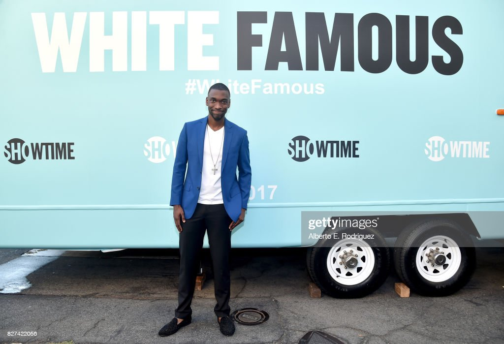 Actor Jay Pharoah of 'White Famous' at the Showtime portion of the 2017 Summer Television Critics Association Press Tour on August 7, 2017 in Los Angeles, California.