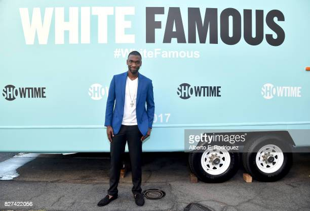 Actor Jay Pharoah of 'White Famous' at the Showtime portion of the 2017 Summer Television Critics Association Press Tour on August 7 2017 in Los...