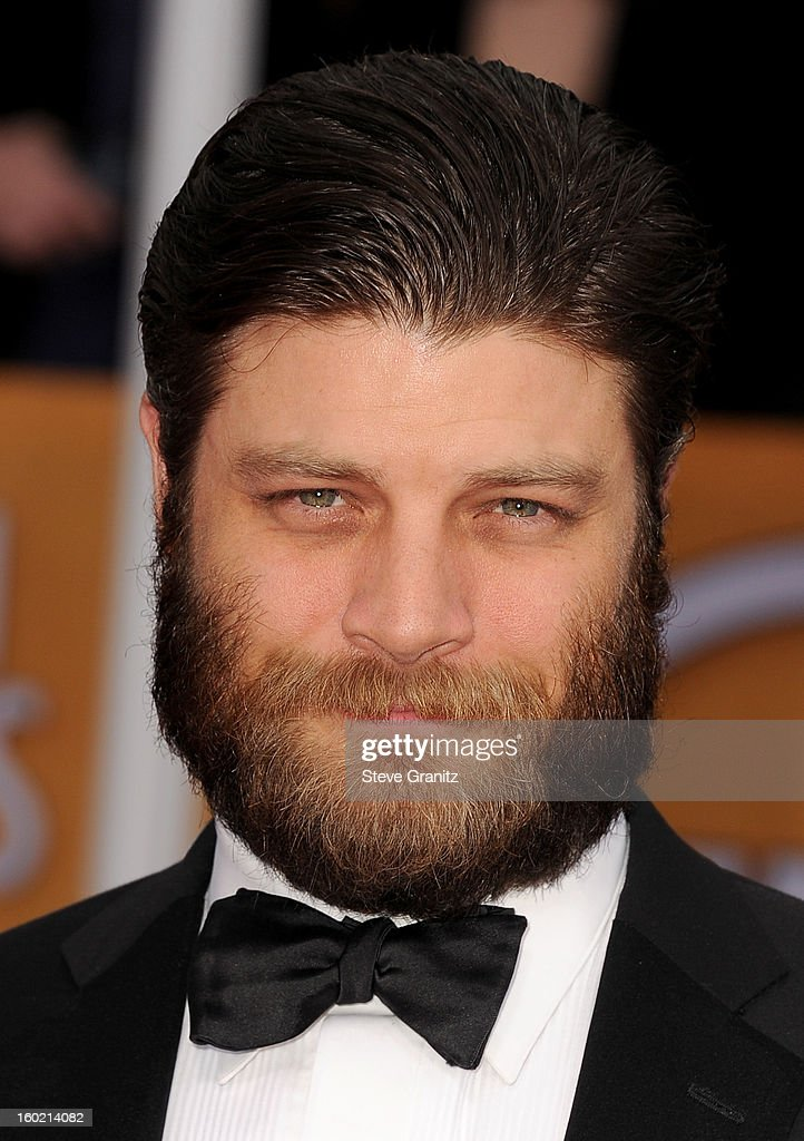 Actor Jay R. Ferguson arrives at the 19th Annual Screen Actors Guild Awards held at The Shrine Auditorium on January 27, 2013 in Los Angeles, California.