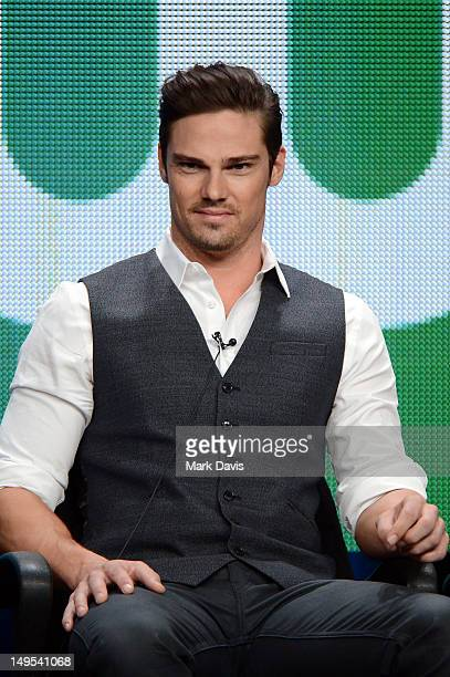 Actor Jay Ryan Speaks At The Beauty And Beast Discussion Panel During