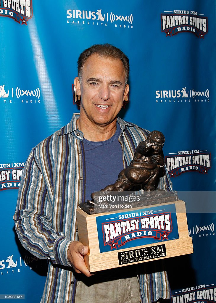 Actor Jay Thomas attends the SIRIUS XM Radio celebrity fantasy football draft at Hard Rock Cafe - Times Square on July 21, 2010 in New York City.