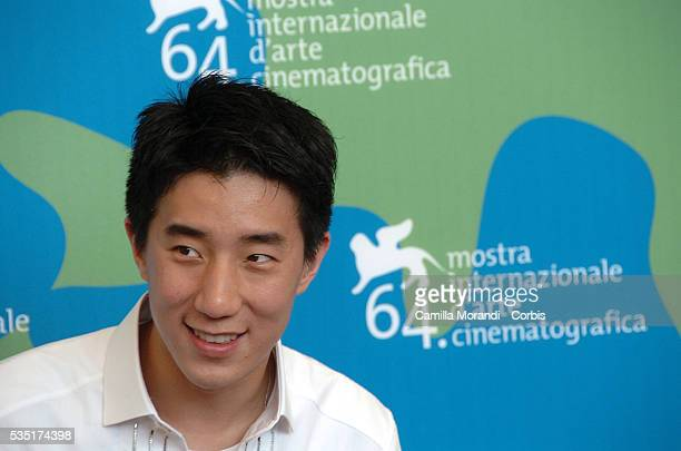 Actor Jaycee Chan at the photocall of the film Taiyang Zhaochang Shengqi during the 64th Venice Film Festival
