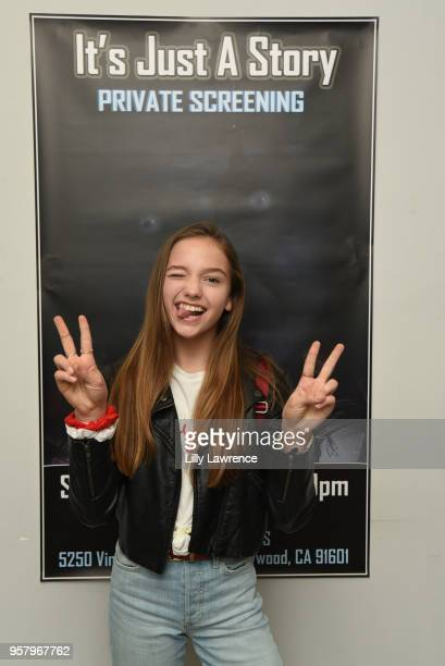 Actor Jayden Bartels attends world premiere of Allisyn Ashley Arm's It's Just A Story at Gray Studios on May 12 2018 in Los Angeles California
