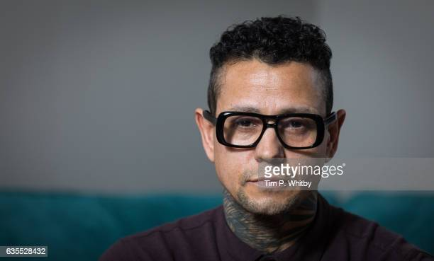 Actor Jaye Davidson poses for a photo ahead of a QA to mark the 25th anniversary of The Crying Game at BFI Southbank on February 15 2017 in London...