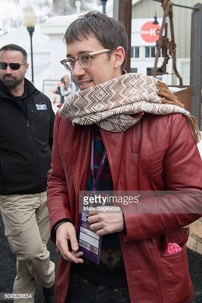 Actor Jayk Gallagher is seen around town at the Sundance Film Festival on January 23 2016 in Park City Utah