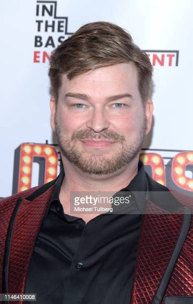 Actor Jayson Bernard attends a Los Angeles VIP industry screening with the filmmakers and cast of DIVOS at TCL Chinese 6 Theatres on May 01 2019 in...