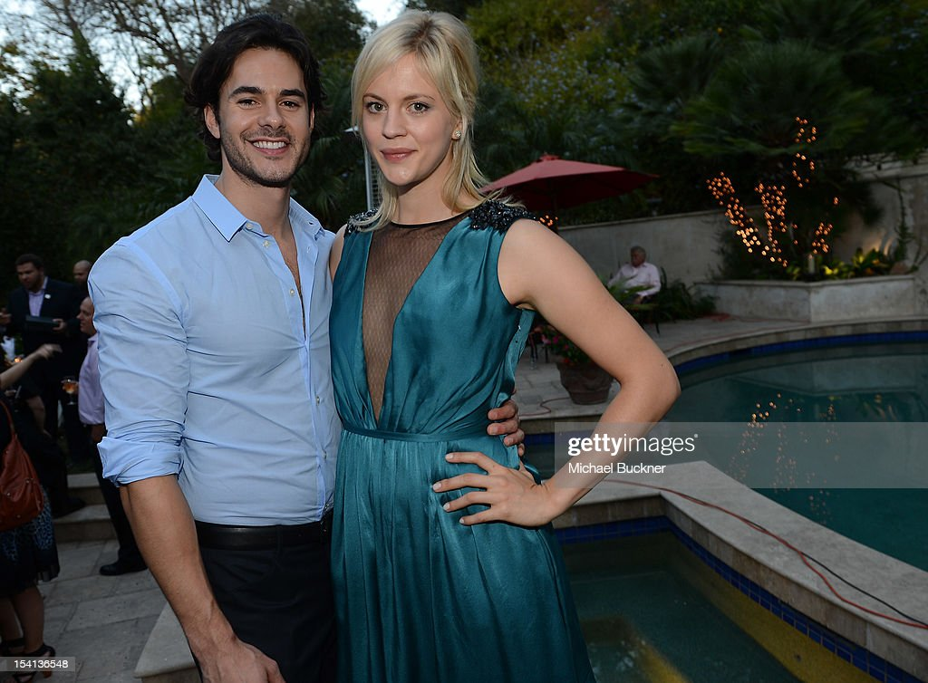Actor Jayson Blair and actress Georgia King attend PFLAG ...