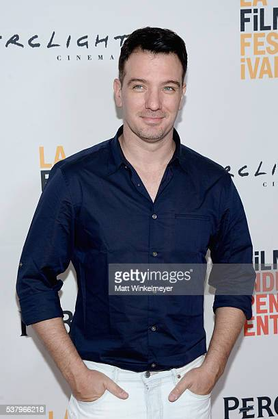 Actor JC Chasez attends the premiere of Opening Night during the 2016 Los Angeles Film Festival at Arclight Cinemas Culver City on June 3 2016 in...