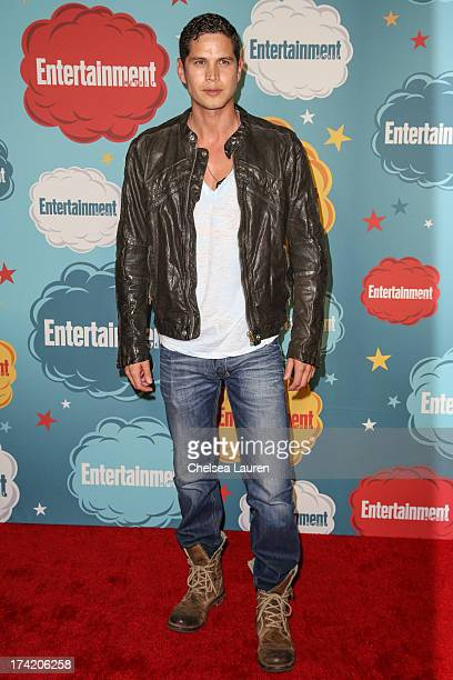 Actor JD Pardo arrives at Entertainment Weekly's annual ComicCon celebration at Float at Hard Rock Hotel San Diego on July 20 2013 in San Diego...