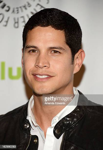 Actor JD Pardo arrives at the 30th Annual PaleyFest The William S Paley Television Festival featuring Revolution at Saban Theatre on March 2 2013 in...