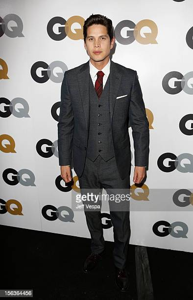 Actor JD Pardo arrives at the GQ Men of the Year Party at Chateau Marmont on November 13 2012 in Los Angeles California