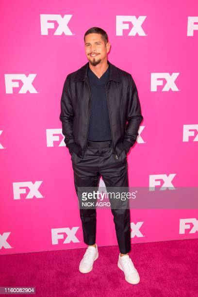 US actor JD Pardo arrives for the FX Network StarWalks TCA Summer Tour on August 6 2019 at the Beverly Hilton hotel in Beverly Hills California