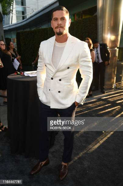 US actor JD Pardo arrives for the Season Two premiere of FX's Mayans MC at the ArcLight Cinerama Dome in Los Angeles on August 27 2019